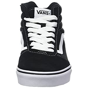 Vans Men's Ward Hi Suede/Canvas Top Trainers