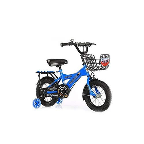 LBYMYB Bicicleta Infantil, Azul Zafiro For Hombres Y Mujeres, 12 ...