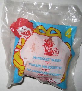McDonalds - Halloween #4 - McNugget Buddy w/ Ghost Mask, 1998