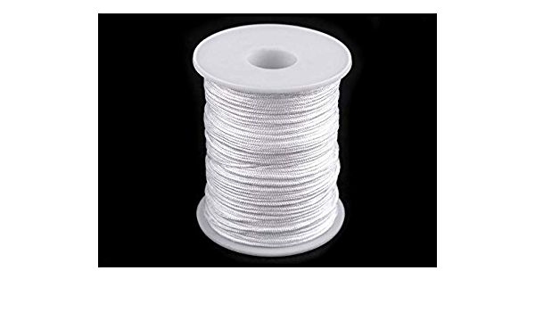 Beading String Ø1.4mm Twisted Cords An... 100m White Drapery Window Blind Cord