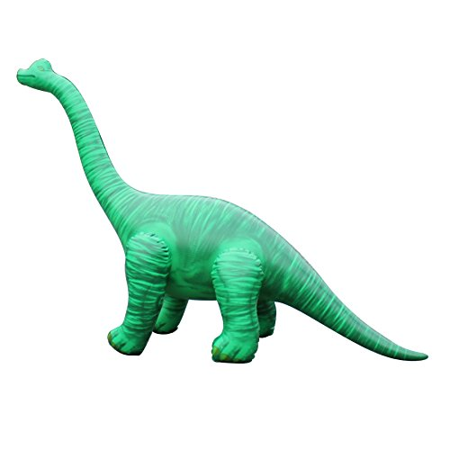 """48""""L x 13""""W x 27.5""""H inflatable brachiosaurus,Inflatable Dinosaurs Toys,Stuffed Animals Toys,indoor and Outdoor Play, Large Inflatable Animals, Inflatable Animals for Kids,cute, Lightweight"""