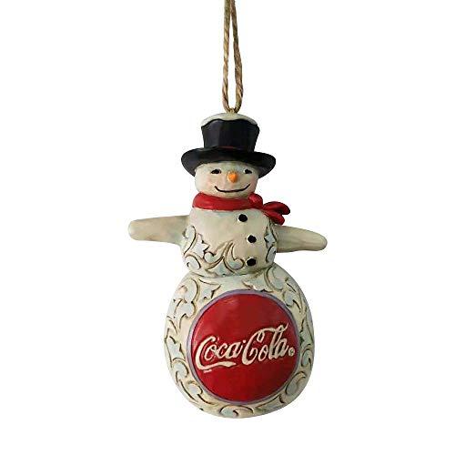Enesco Jim Shore Coca-Cola Snowman Ornament