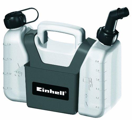 Einhell Kombi-Kanister ( 1,25 l Öltank, 3 l Benzintank, inkl. Werkzeugtasche)
