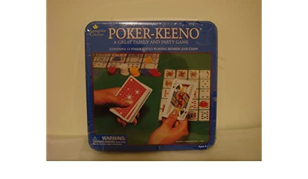 POKER - KEENO FAMILY PARTY GAME by Maplegrove Collection: Amazon.es: Juguetes y juegos