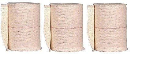 Johnson & Johnson First Aid Elastikon Elastic Tape, 3 Inches X 2.5 Yards (3 Rolls) ()