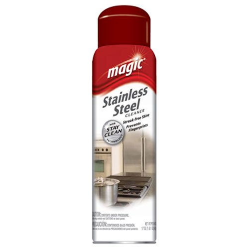 Magic Stainless Steel Cleaner Aerosol, 17 oz (Refrigerator Polish compare prices)