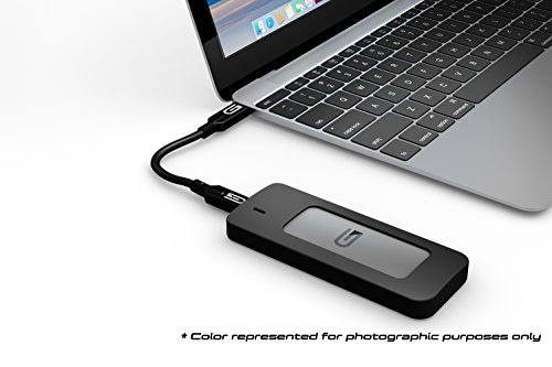 Glyph 525 GB Atom USB 3.1 Type-C External Solid State Drive - Black by Glyph Production Technologies (Image #4)