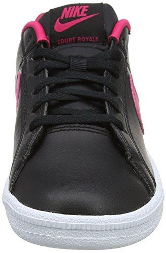 Nike Court Royale GG, Zapatillas Para Niñas Negro (Black / Rush Pink /  White)