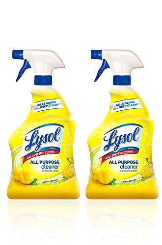 Lysol All Purpose Cleaner, Lemon Breeze, 32 oz(Pack of ()