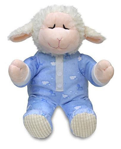 (Cuddle Barn Animated Plush Little Lamb Pray with Me Pals Collection - Nate The Lamb (CB4787))