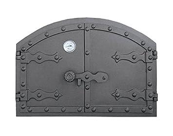 Puerta Del Horno para pizza Horno Puerta Madera del Horno Puerta Horno de piedra para puerta
