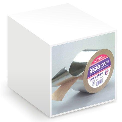 "Venture 3520CW 3"" x 50yd Aluminum Foil Insulation Tape (1 Roll)"