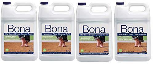 Bona Kemi Hardwood Cleaner - Bona US Gallon Hardwood Floor Cleaner 128 fl oz [Pack of 4]