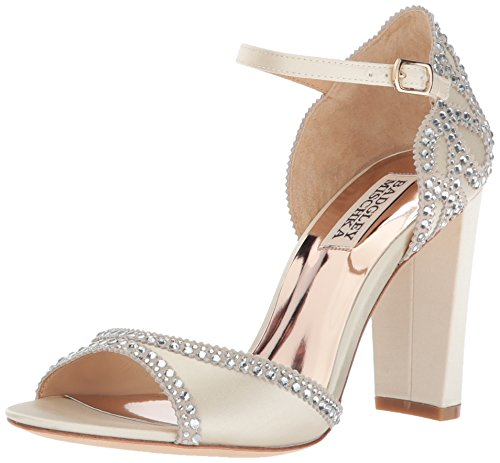Badgley Mischka Women's Kelly Heeled Sandal Ivory e7lcvaVqsp