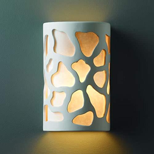 (Justice Design Group CER-7445W Single Light 9.5