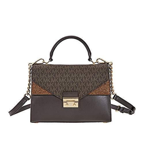 Michael Kors Sloan Leather Satchel- ()
