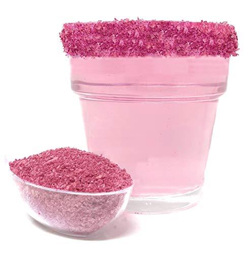 Snowy River Pink Cocktail Salt – Natural Kosher Pink Margarita Salt for Cocktail Rimming (8oz Bag)