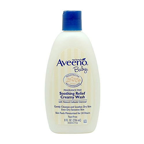 Aveeno Baby Soothing Relief 24 Hour Moisture Creamy Wash, 8 fl. oz. from Aveeno Baby