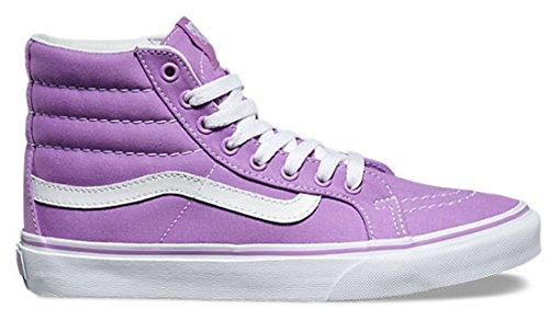 Vans Unisex Sk8-Hi Slim Damen Skateschuh Usambaraveilchen / True White
