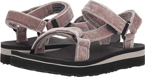 Womens Sandals Holiday (Teva Women's W MIDFORM Universal Holiday Sandal, Silver, 07 M US)