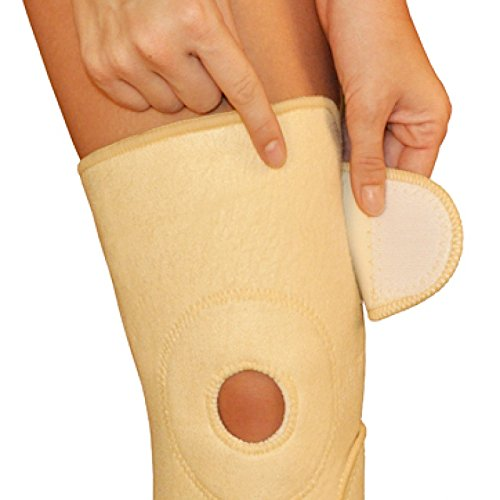 Therapeutic Copper Knee Brace Support by One & Only USA - Nude Usa