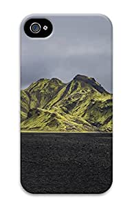 iPhone 4 4s Cases & Covers - Moss Mountains Iceland Custom PC Soft Case Cover Protector for iPhone 4 4s