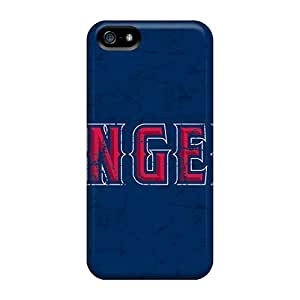 Marycase88 Iphone 5/5s Perfect Hard Phone Case Unique Design Attractive Los Angeles Angels Pattern [kJz17903ClFW]