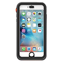 (iPhone 6s Plus / 6 Plus-only) Catalyst waterproof iPhone case (Black Orange)