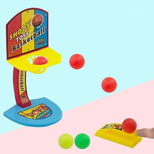 LtrottedJ Desktop Ejection Basketball Mini Football Hockey Golf Shooting Finger Game -