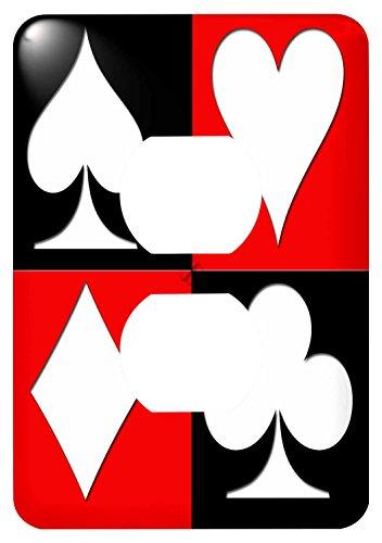 Popular Poker - 3dRose lsp_218680_6 Poker. Four Of A Kind. Aces. Popular Image. Best Seller. - 2 Plug Outlet Cover