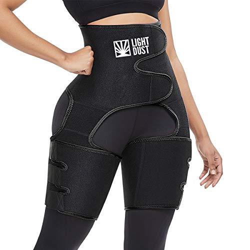 Waist Trainer Shaping Neoprene Thigh Shaper High Waist Ultra Light Thigh Trimmer Butt Lifter Shapewear and Hips Belt