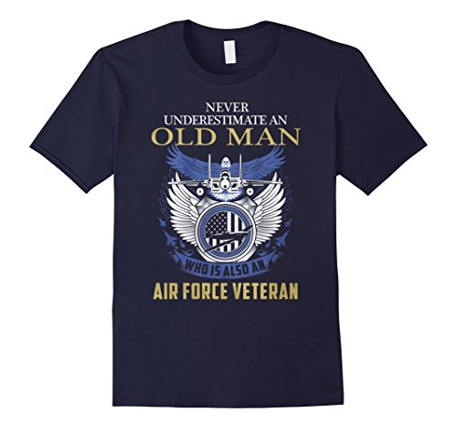 Men's Airforce Veteran Great Gift For Any Veteran 2XL Navy