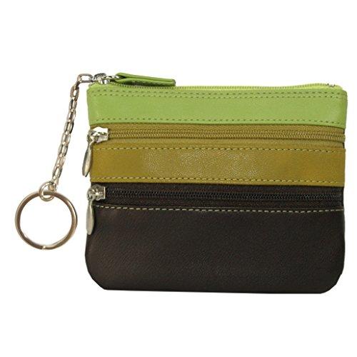 belarno-trizip-multi-color-coin-purse-brown-combination