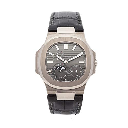 Patek Philippe Nautilus Mechanical (Automatic) Grey Dial Mens Watch 5712G-001 (Certified Pre-Owned)
