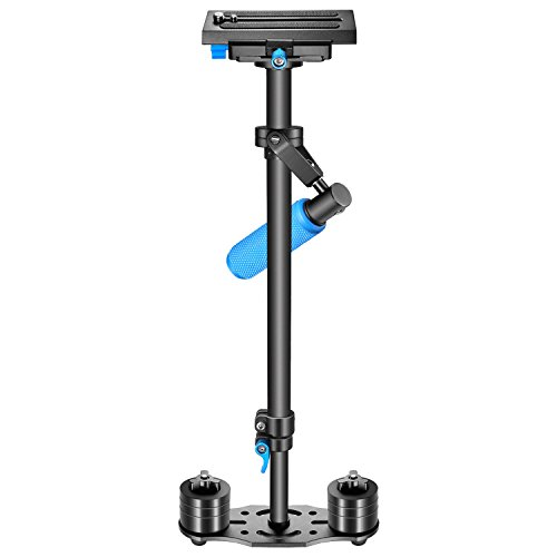 "Amazon Lightning Deal 75% claimed: Neewer 24""/60cm Handheld Stabilizer with Quick Release Plate 1/4"" and 3/8"" Screw for DSLR and Video Cameras up to 6lbs/2.7kg"
