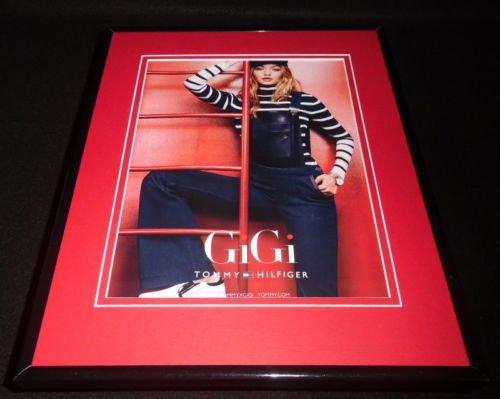 gigi-hadid-2016-tommy-hilfiger-framed-11x14-original-advertisement-c