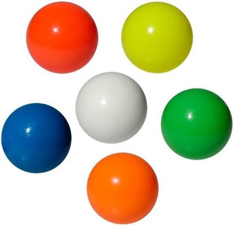 Play - Pelotas para malabares (62-100 mm) azul azul Talla:70 mm ...