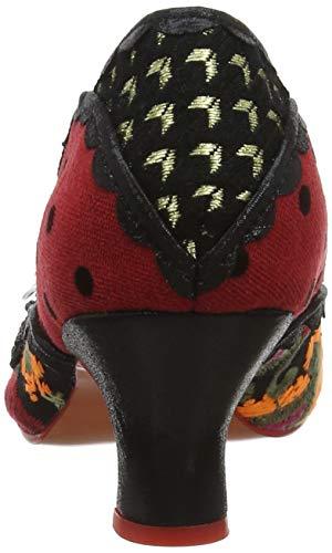 de Red Licence Bay Choice Irregular Breeze Cerrada Zapatos Negro tacón con Punta Black Poetic Mujer A by para wSaRqn0q4