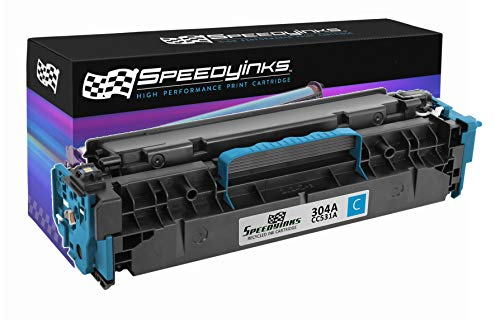 Speedy Inks Compatible Toner Cartridge Replacement for HP 304A (Cyan) ()