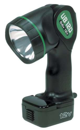 Hitachi UB12D Torch 9.6-Volt to 12-Volt Pivoting Head Flashlight  (Discontinued by -