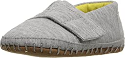 TOMs Unisex Crib Alpargata Shoe Sneakers (Infant), Grey Jersey, 2 M US Infant