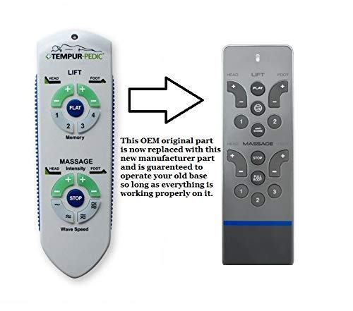 Ergo Advanced RC WM 101 (New 2019 Version) Remote Replacement for Adjustable Bed by Adjustable Bed Replacement Remotes