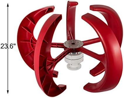 Pelton Turbine Windgenerator Generator Windrad Wasserrad Savonius 400Watt Mod.1