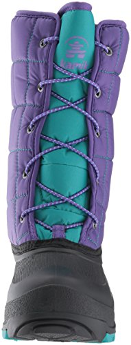 Pictures of Kamik Girls' Cady Snow Boot Purple/Teal NK4701S Purple/Teal 6