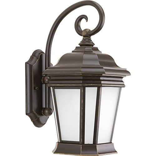 Progress Lighting Crawford 1-Light Wall Lantern in Oil Rubbed Bronze - P5686-108 ;(supply#: shop_freely_180371014117245