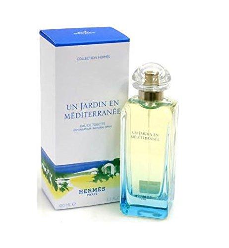 Un Jardin En Mediterranee By Hermes For Women. Eau De Toilette Spray 3.3 Ounces (Elixir Des Merveilles Hermes)