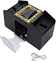 Automatic Card Shuffler, 1-6 Decks of Cards USB/Battery Powered Electric Shuffler, Electric Playing Card Shuff