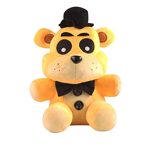 PAPEO FNAF Plushies 7 inch Big Plush Figure Toy Huggable Large Stuffed Toys Doll Gift Christmas Halloween Birthday Gifts Cute Collection Collectible Fazbear for Kids Adults