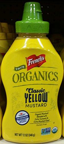 - French's Organic Yellow Mustard 12 oz (Pack of 3)