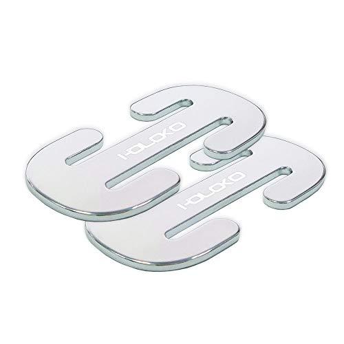 Seat Belt Adjuster - 2 Pcs HOLOKO Universal Car Seat Belt Clips for Shoulder and Neck Protection - Metal